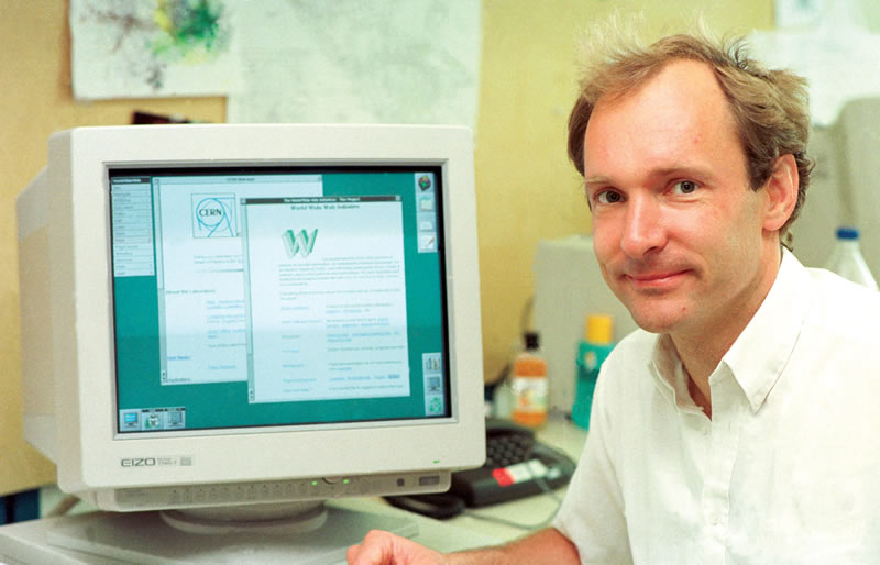 Tim Berners-Lee, el padre de Internet