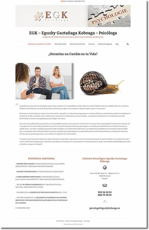 Web-Blog Básico WordPress