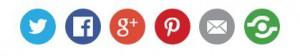 Botones Redes Sociales Blog WordPress