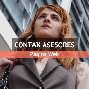 Ejemplo de desarrollo web para asesoría