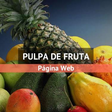 Ejemplo de página web para alimentación